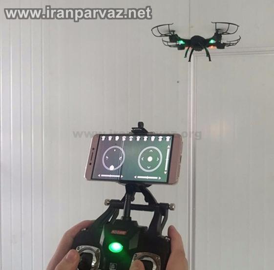 0 6 - هلیشات دوربین دار K200 با خلبان خودکار