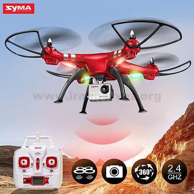 11 2 - کوادکوپتر دوربین دار SYMA x8hg با دوربین ورزشی ۸ مگاپیکسلی
