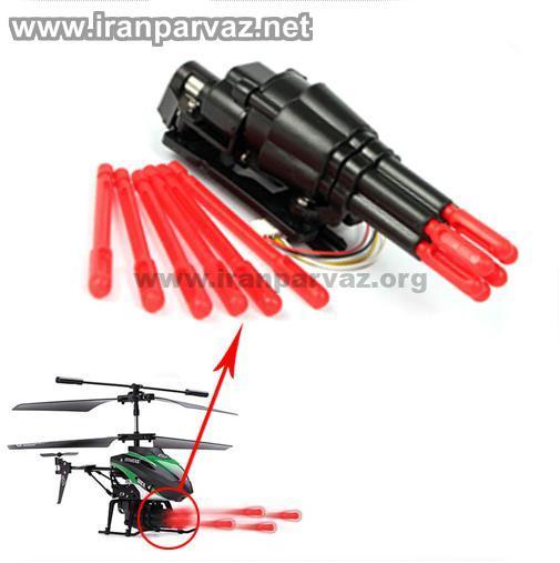 5 2 - هلیکوپتر کنترلی ۳٫۵ کانال تیرانداز WLToys V398 , سایز مینی