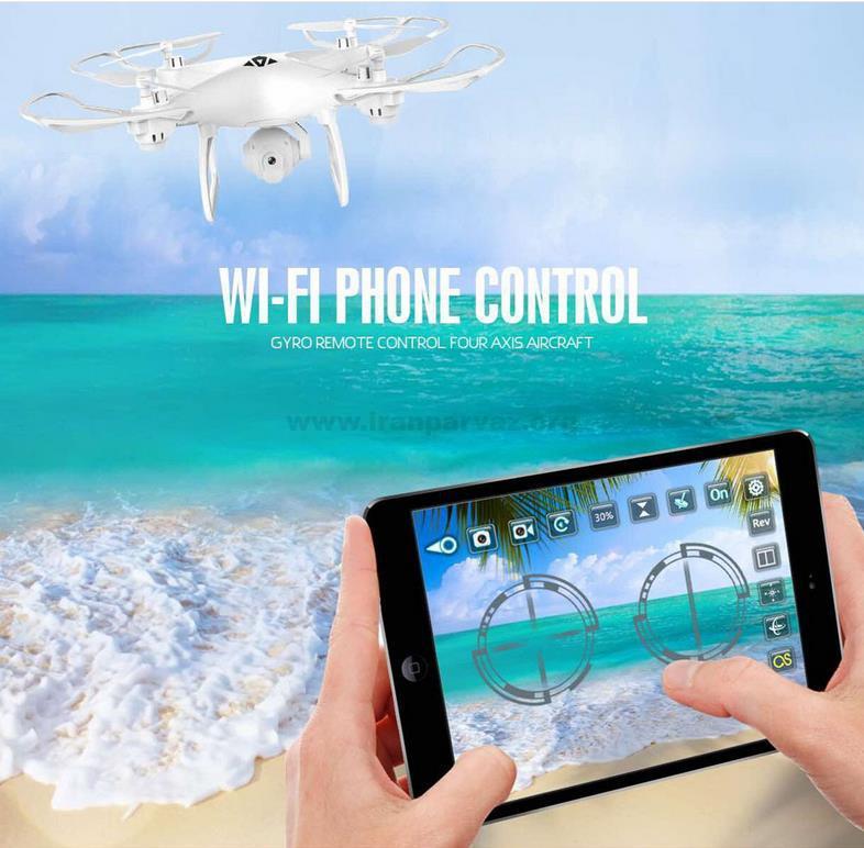5 8 - کوادکوپتر دوربین دار Visou XS808W با خلبان خودکار و ارسال تصویر روی موبایل