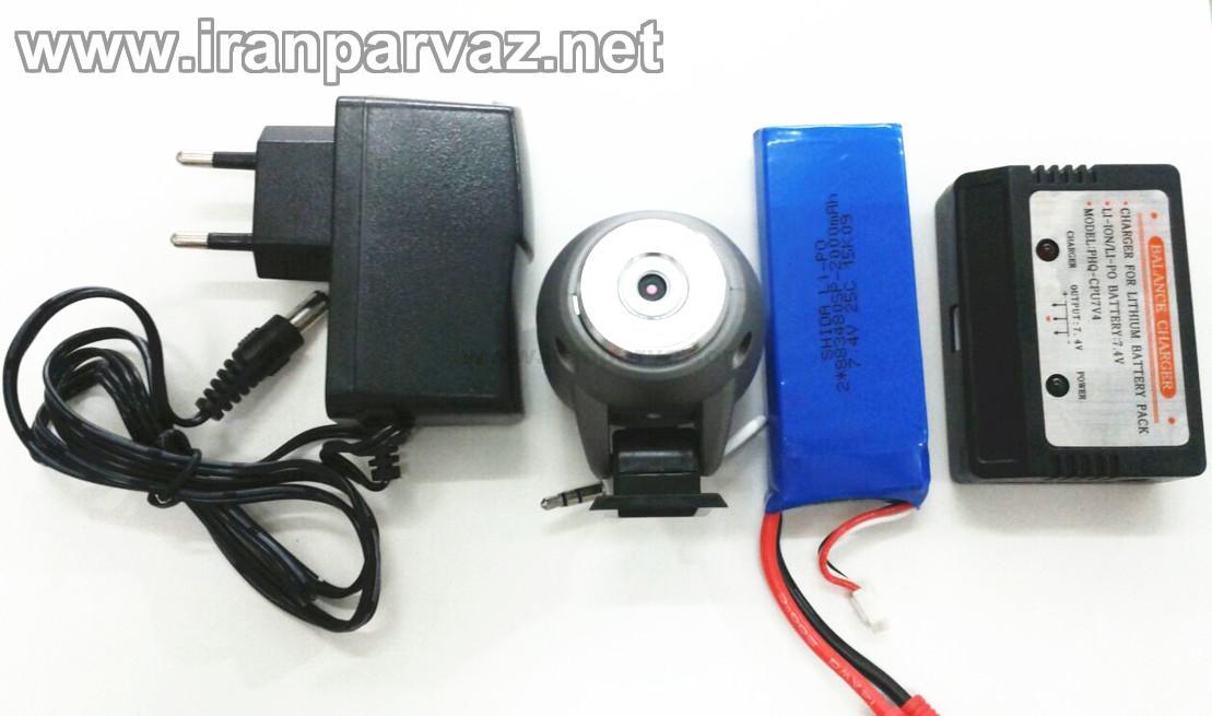 K800 141 - کوادروتور دوربین دار K800 با سایز بزرگ و پایداری بالا