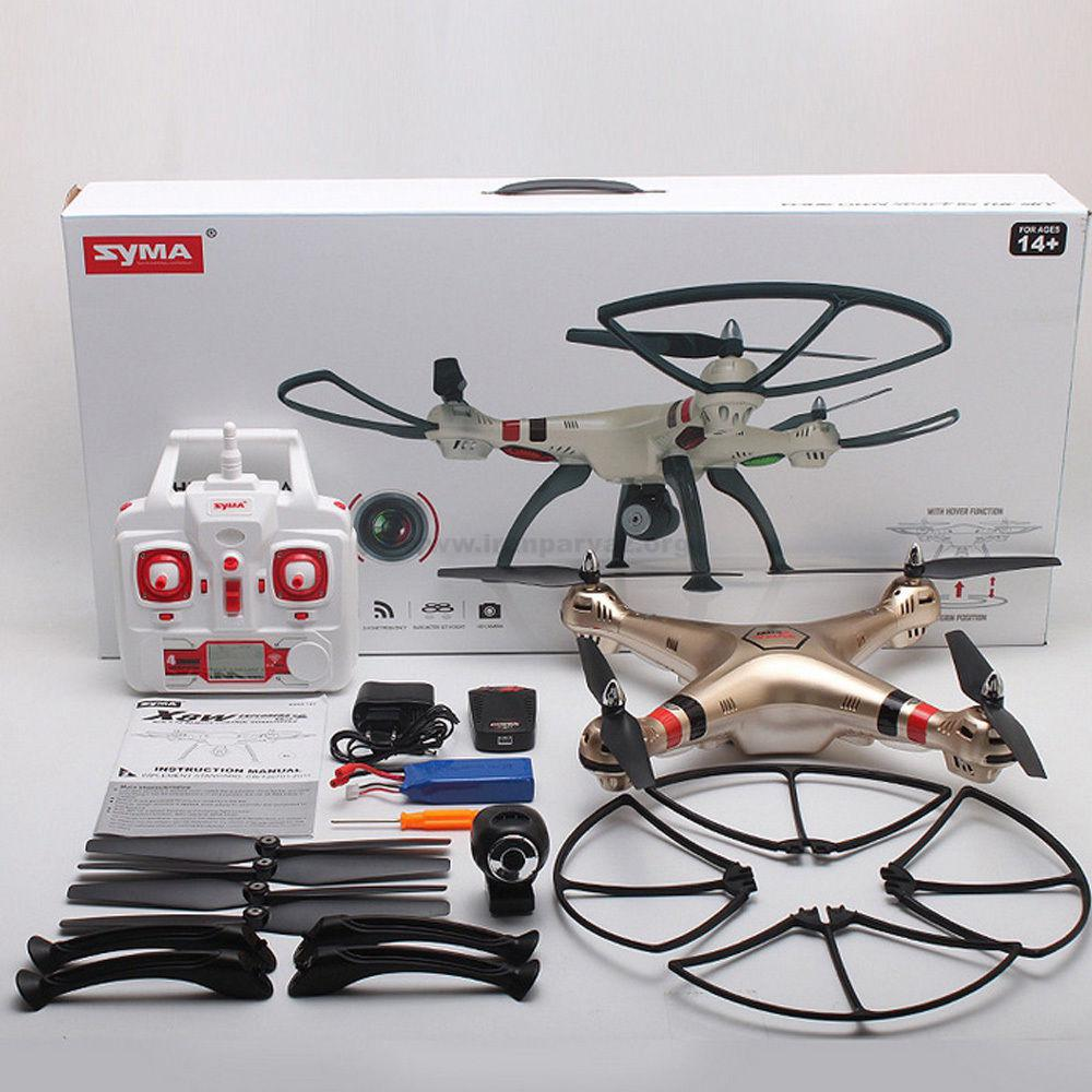 Syma X8HW WIFI FPV Real time RC Helicopter Headless Drone With 1MP HD Camera 2 4Ghz1 - کوادکوپتر دوربین دار SYMA x8hw با دوربین ارسال تصویر زنده
