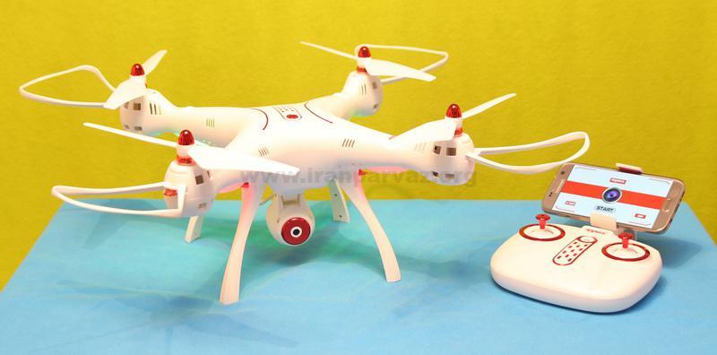 Syma X8SW quadcopter review1 - کوادکوپتر دوربین دار SYMA x8sw با دوربین ارسال تصویر زنده