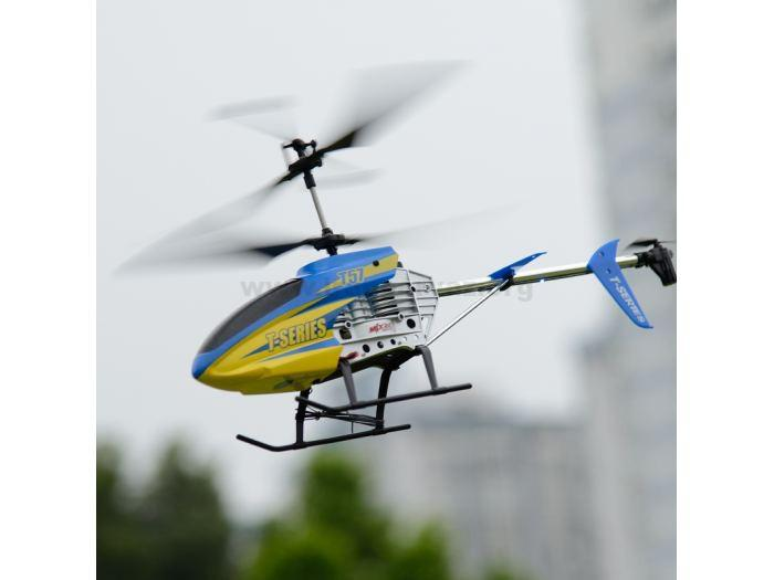 radioupravlyaemyj vertolet mjx t57 thunderbird s giroskopom 47 sm t57 1 - هلیکوپتر کنترلی ۳٫۵ کانال سایز بزرگ MJX T657 سری iHeli