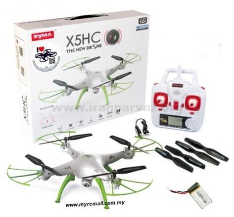 syma x5hc 4ch 2 4g camera rc quadcopter drone altitude hold barometer myrcmall 1605 09 Myrcmall@21 - کوادکوپتر دوربین دار SYMA X5HC با خلبان خودکار