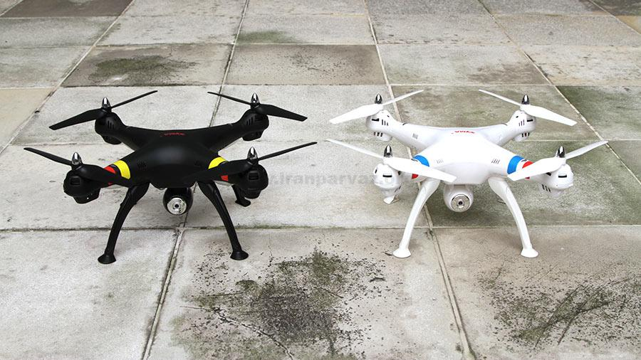 x8w 3 - کوادکوپتر دوربین دار SYMA x8w با دوربین ارسال تصویر زنده