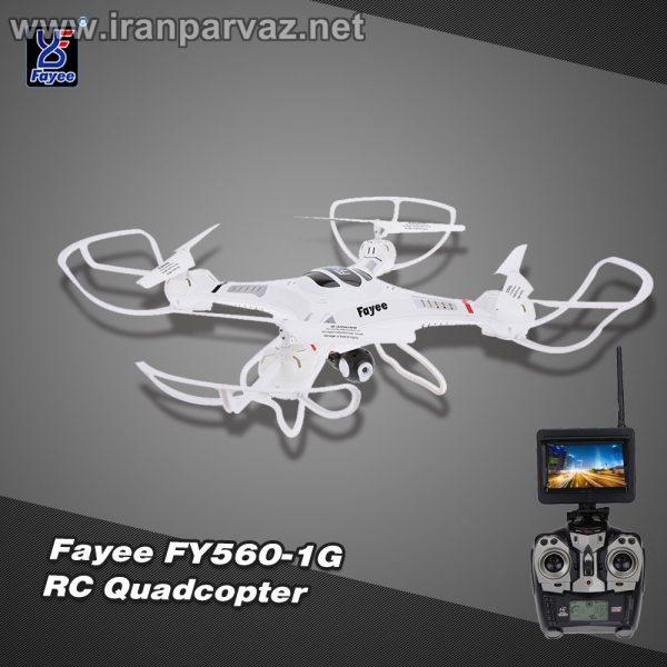 کوادکوپتر دوربین دار FY560 با ارسال تصویر زنده روی مانیتور