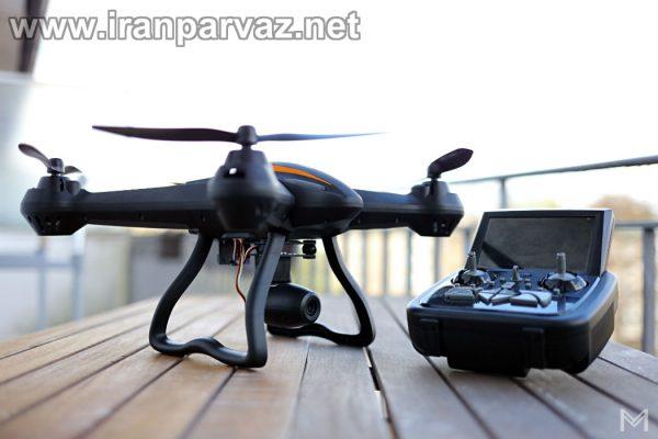 کوادکوپتر CX35 با دوربین متحرک و گیمبال با ارسال تصویر روی مانیتور