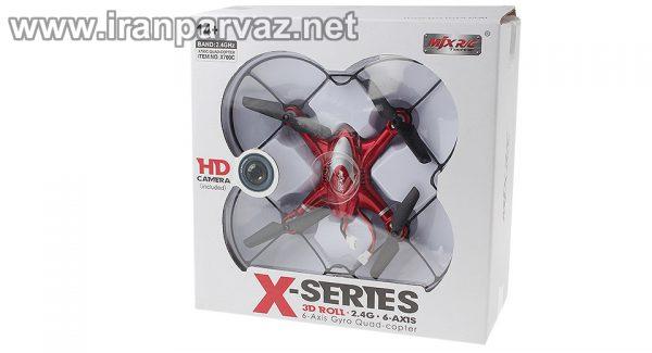 کوادروتور دوربین دار MJX X700c با سایز مینی
