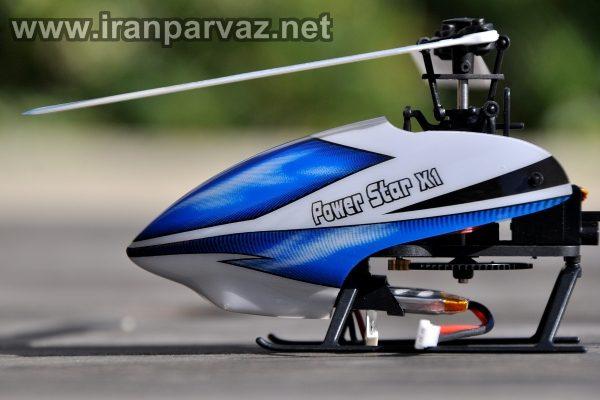 هلیکوپتر کنترلی شش کاناله فول آکروباتیک WLToys V977 , مخصوص حرفه ای ها