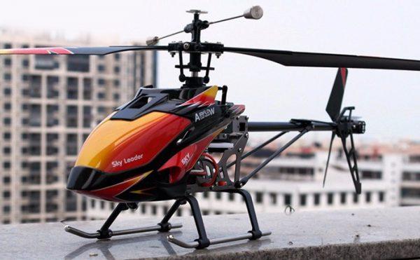 هلیکوپتر کنترلی چهار کاناله تک محور WLToys V913 , سایز بزرگ
