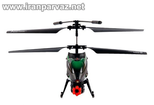 هلیکوپتر کنترلی ۳٫۵ کانال تیرانداز WLToys V398 , سایز مینی