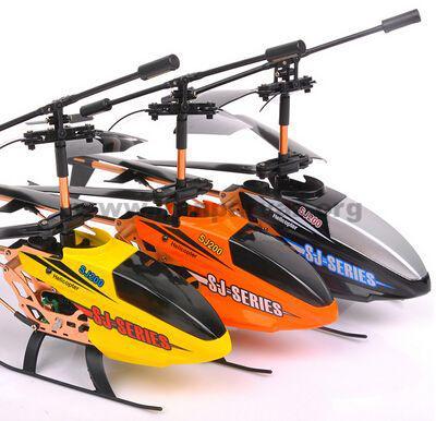 هلیکوپتر کنترلی ۳٫۵ کانال SJ200 | هلیکوپتر کنترل از راه دور تفریحی و مقاوم