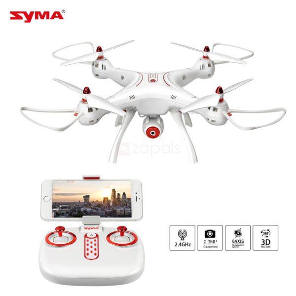 کوادکوپتر دوربین دار SYMA x8sw با دوربین ارسال تصویر زنده