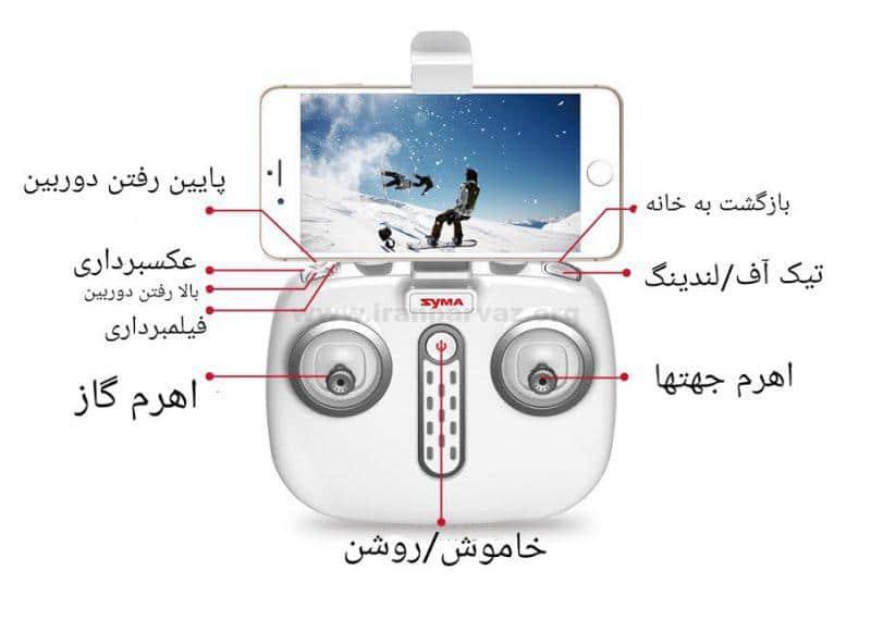0 5 800x581 - کوادکوپتر سایما Syma X8pro , کوادکوپتر دوربین دار سیما , کوادکوپتر GPS دار