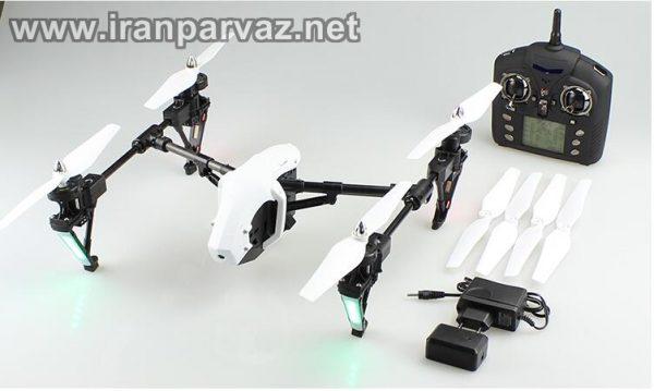 کوادکوپتر Q333a دوربین دار ریس و طرح اینسپایر Q333 با ارسال تصویر روی مانیتور