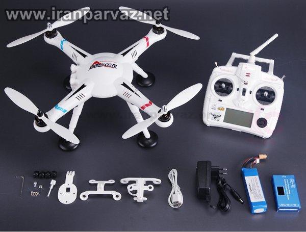 4 6 - کوادکوپتر V303 با GPS و خلبان خودکار و موتور براشلس