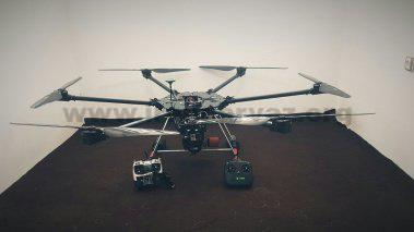 57744834 - ساخت کوادکوپتر بنزینی در ایران با تایم پرواز بالا