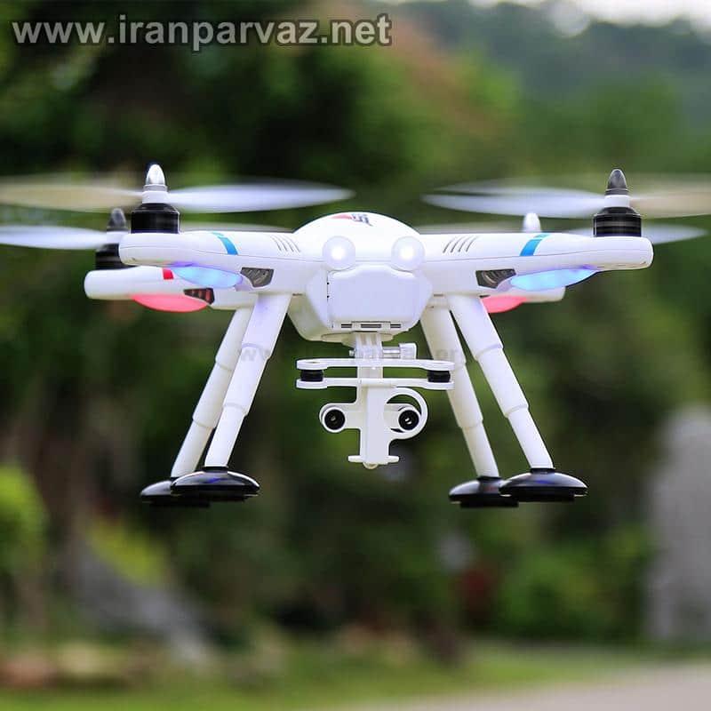 7 5 - کوادکوپتر V303 با GPS و خلبان خودکار و موتور براشلس