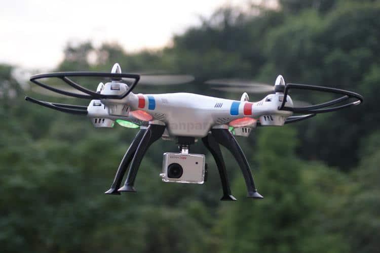 Syma X8G Drone 1 - کوادکوپتر سایما دوربین دار SYMA x8g با دوربین ورزشی ۸ مگاپیکسلی