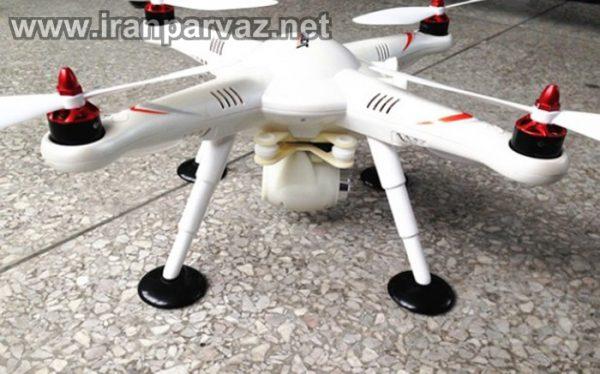 کوادکوپتر V303 با GPS و خلبان خودکار و موتور براشلس
