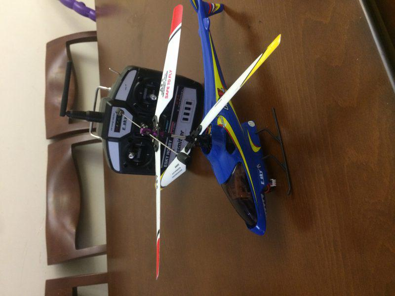 هلیکوپتر ۴ کانال ESkyهلیکوپتر ۴ کانال نو نو بدون پرواز و برای کلکسیون گرفته بودم