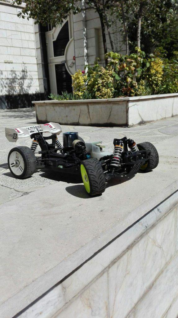 ماشین سوختی (نیترو)