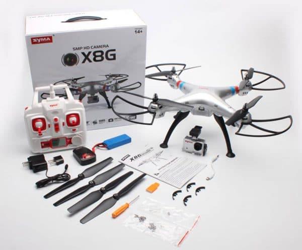 کوادکوپتر سایما دوربین دار SYMA x8g با دوربین ورزشی ۸ مگاپیکسلی