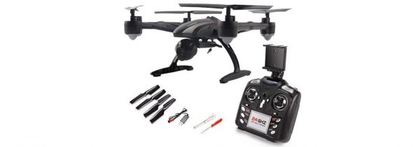 کوادکوپتر دوربین دار ۵۰۹G | ارسال تصویر زنده روی مانیتور با دوربین HD