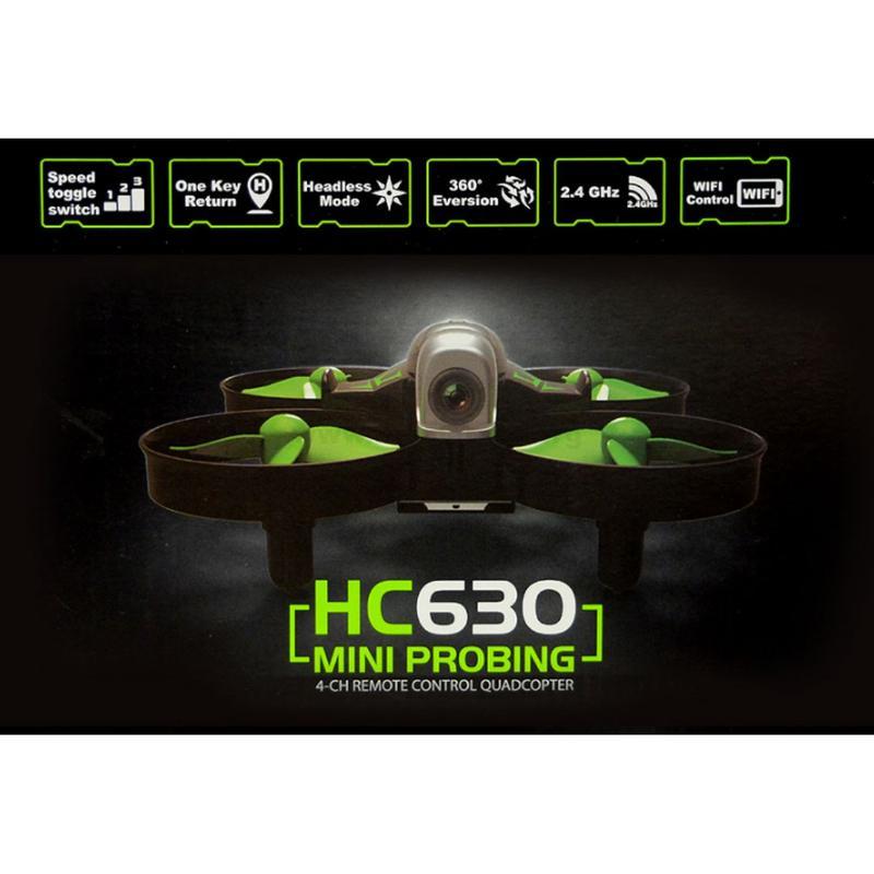 HC630W - کوادکوپتر دوربین دار HC630 , کوادکوپتری با قدرت مانور بالا