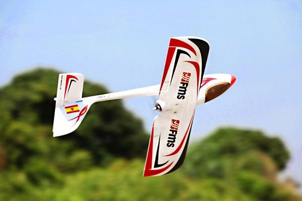 FMS064R 1 - هواپیمای کنترلی رد دراگون | هواپیمای الکتریکی معروف برای آماتورها