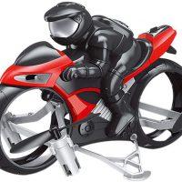موتورسیکلت و کوادکوپتر کنترلی | هم موتورسیکلت و هم کوادکوپتر MotorCycleFly