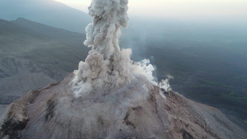 پهبادهای محقق آتشفشانها