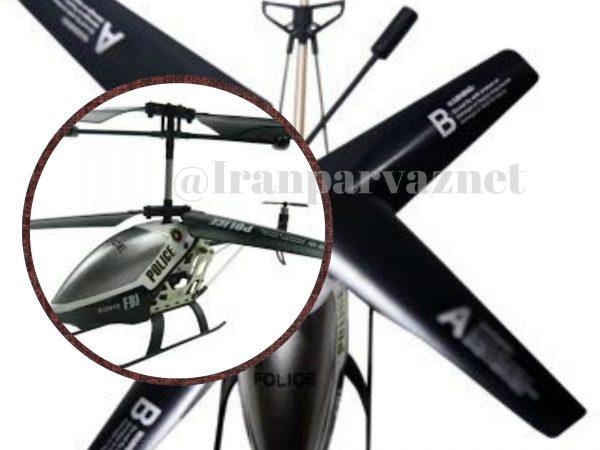 هلیکوپتر کنترلی سه و نیم کانال طرح پلیس SJ Police | هلیکوپتر کنترل از راه دور MT060