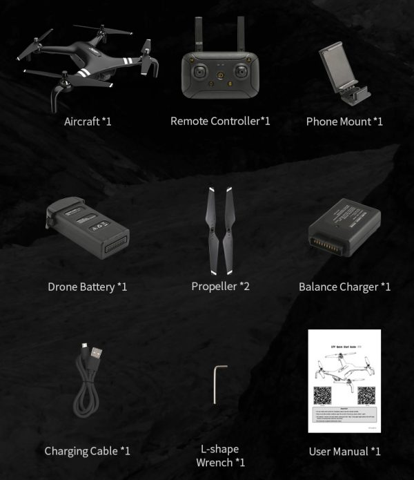 کوادکوپتر X7P   کوادکوپتر با دوربین حرفه ای