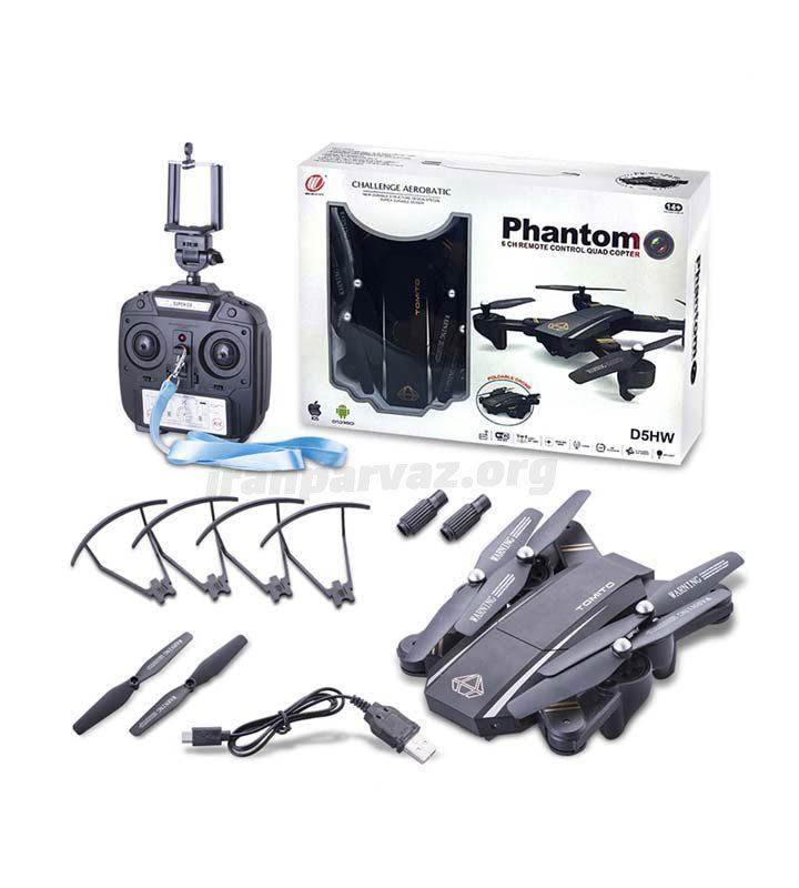 4 720x800 - کوادکوپتر Phantom D5HW | کوادکوپتر با بازو های تاشو