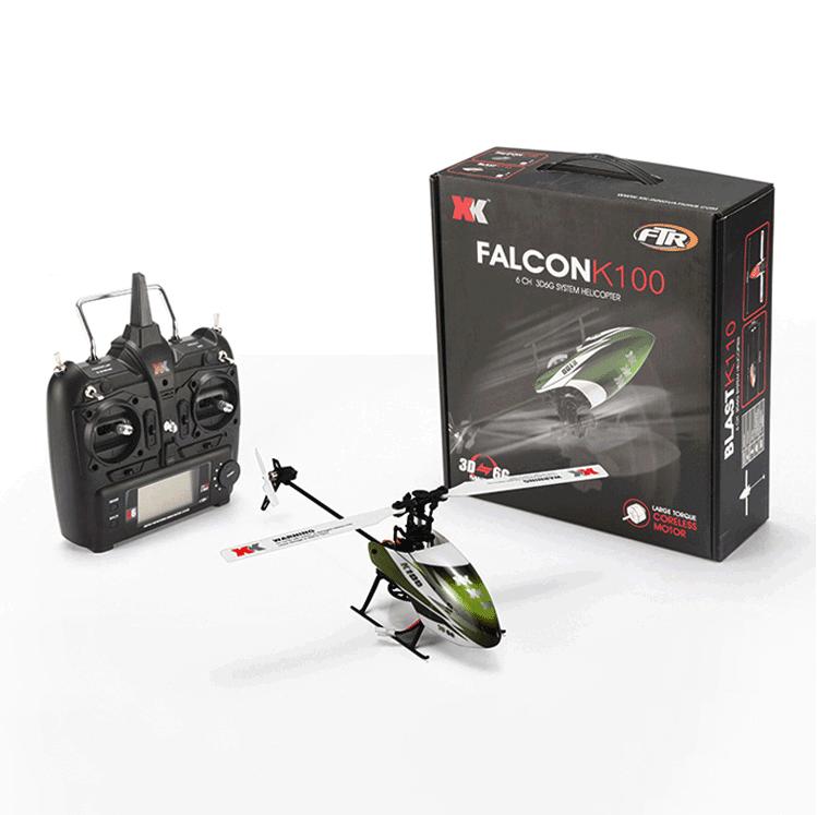 هلیکوپتر کنترلی K100