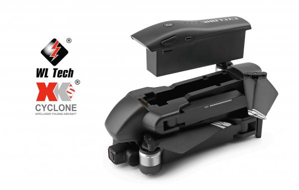 کوادکوپتر Q868 | مدل تاشو دوربین دار WlToys