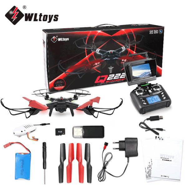 کوادکوپتر Q222g | کوادکوپتر دوربین دار WlToys