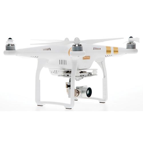 کوادکوپتر Phantom 3 Professional |کوادکوپتر مخصوص فیلم برداری با دوربین ۴K