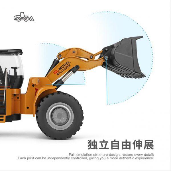 ماشین کنترلی ۱۴۸۰۰ | لودر کنترلی wltoys