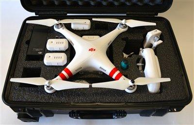 کوادکوپتر phantom 2 | کوادکوپتر با دوربین حرفه ای ۱۴ مگاپیکسلی DJI