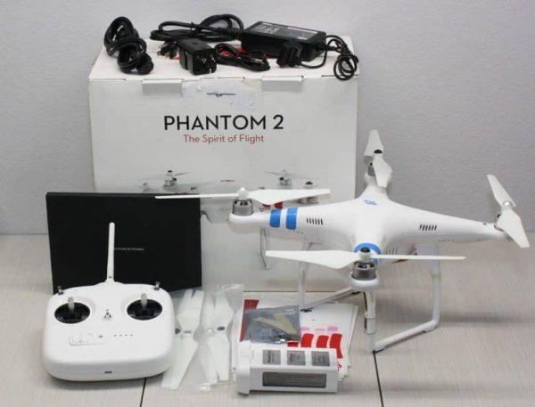 کوادکوپتر Phantom 2 Vision | کوادکوپتر مخصوص فیلم برداری با دوربین ۱۴ مگاپیکسلی