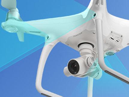 کوادکوپتر PHANTOM 4 | کوادکوپتر مخصوص FPV با دوربین ۴K