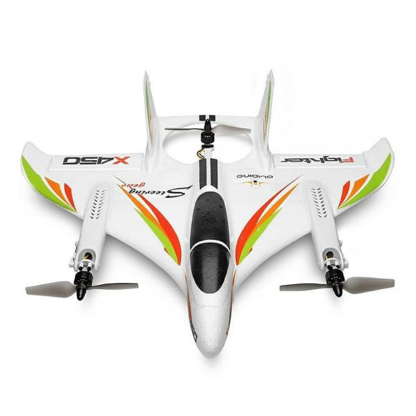 هواپیما کنترلی XK X450 |هواپیما کنترلی عمودی با سه مود پروازی